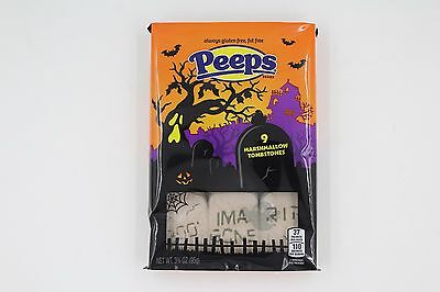 Peeps Halloween Marshmallow Tombstones LIMITED STOCK Free UK Delivery