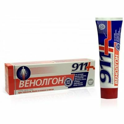 911+ GEL VENOLGON VARICOSE VEINS, THROMBOPHLEBITIS, 100ml