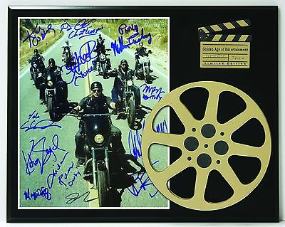 """Sons of Anarchy Limited Edition Reproduction Signature & Film Reel Display """"K1"""""""