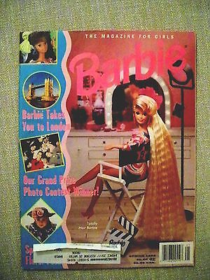Barbie Magazine for Girls Spring 1992  soft cover Excellent Condition unread