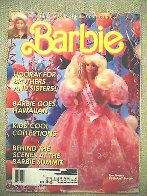 Barbie Magazine for Girls Spring 1991 soft cover Excellent Condition Unread