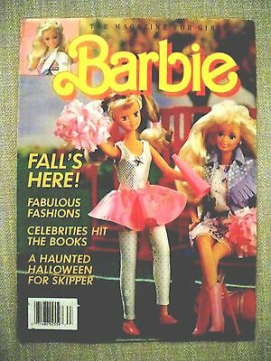 Barbie Magazine for Girls Fall 1988 soft cover Excellent Condition Unread