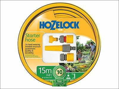 Hozelock - Starter Hose Starter Set 15 Metre 12.5mm (1/2in) Diameter - 72159000