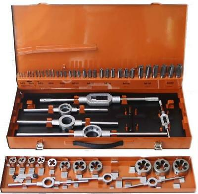 Corona metric tap and die set 54 pcs M3-M20, Tungsten steel DIN 352 (Cor C9183)