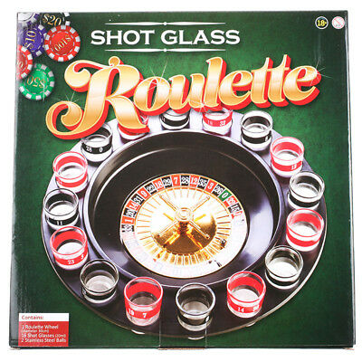 GET IT NOW Shot Glass Roulette
