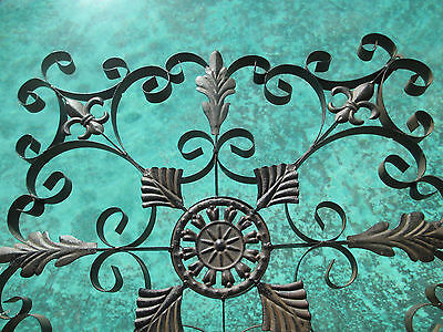 Decorative wrought iron wall panel Grill grate window, door, ceiling light wall