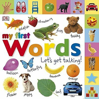 My First Words Lets Get Talking - Board book - Brand New