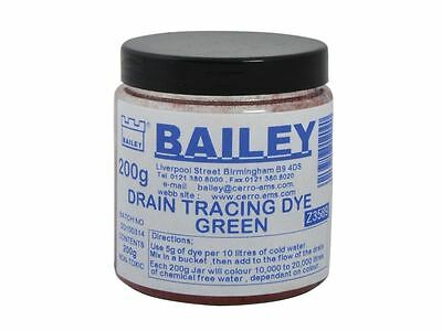 Bailey - 3589 Drain Tracing Dye - Green