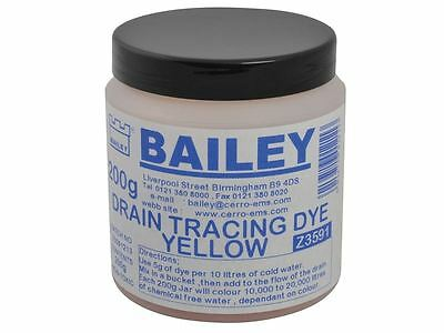 Bailey - 3591 Drain Tracing Dye - Yellow
