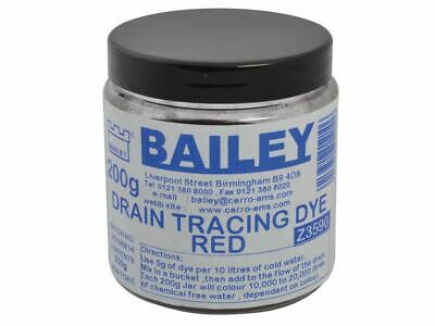Bailey - 3590 Drain Tracing Dye - Red