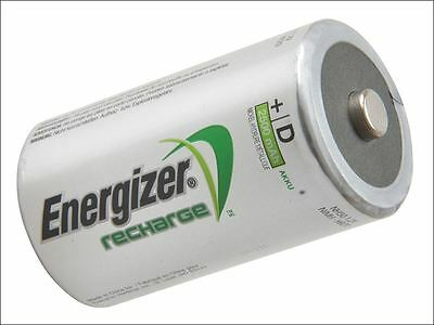 Energizer - D Cell Rechargeable Power Plus Batteries RD2500 mAh Pack of 2 - S639