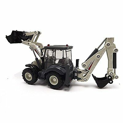 eMart Alloy Diecast Toy Digger and Excavator Truck Model 1:50 4 Wheel Excavator