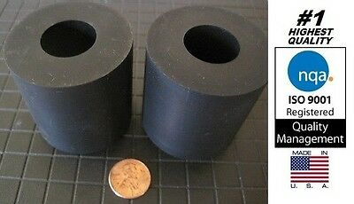 """Rubber Anti-vibration Spacer, 2"""" OD x 7/8"""" ID x 2"""" Thick (Item# X19-17)"""