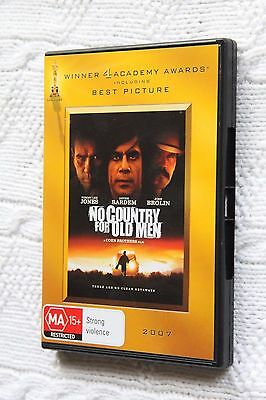 No Country for Old Men (DVD), R-4, Like new (Disc: New), free post Aus-wide