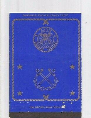 MATCHBOOK COVER United States Navy