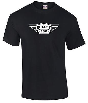 New Royal Enfield Bullet Motorcycle Biker Logo Premium T Shirt Sizes S To 5XL