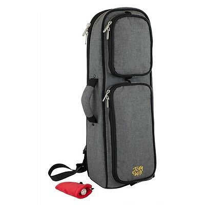 Tom and Will 26TP Padded Trumpet Bag - Grey