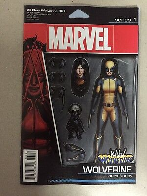 All New Wolverine #1 Christopher Action Figure Variant X-23 Marvel Comics 2015