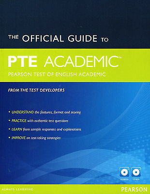 OFFICIAL GUIDE TO PTE Pearson Test of English ACADEMIC w Audio CDs & CD-ROM @NEW