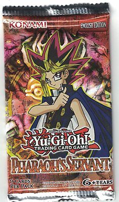 Yu-Gi-Oh 1 Booster Pharaoh's Servant (PSV) Englische Version OVP