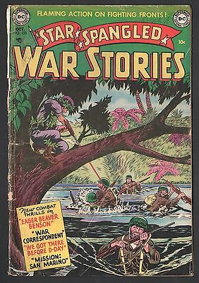 Star Spangled War Stories #133 3rd Issue DC Comics October 1952 GD-