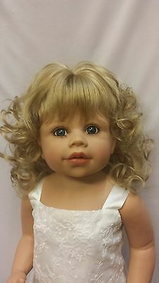 """NWT Monique Melinda Blonde Doll Wig 16-17"""" fits Masterpiece Doll(WIG ONLY)"""