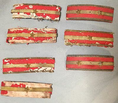 Vintage WWII Japanese Military epqulets*7  M0822