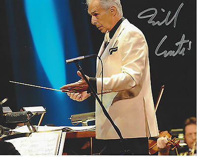 COMPOSER BILL CONTI SIGNED AUTHENTIC 8X10 PHOTO D w/COA ROCKY IV THE KARATE KID