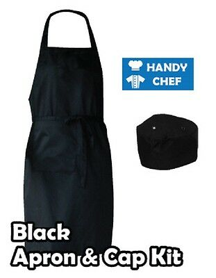 Chef Bib Apron and Chef Hat,,..see handychef store for quality chef jackets,pant