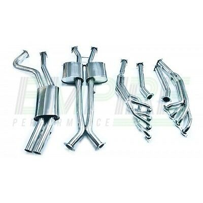 Holden Ss Vt Vx Vy Vz V8 Ls1 Stainless Steel Engine Back Ute Exhaust Commodore