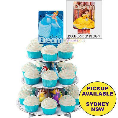 Disney Princess Party Supplies Cupcake Stand Wilton Cake Treats Holder
