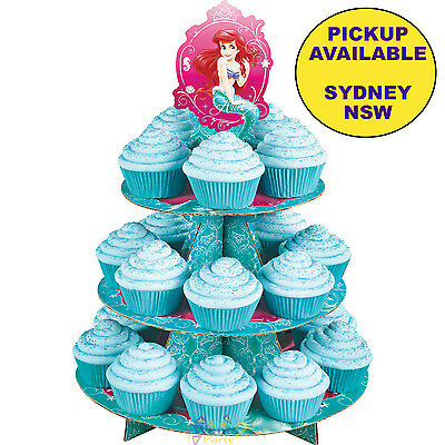 Ariel Little Mermaid Princess Party Supplies Cupcake Stand Treat Holder Wilton