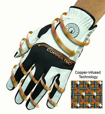 Copper Tech golf glove for JOINT-MUSCLE soothness LEFT HAND