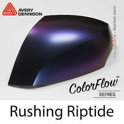 20x30cm FILM Satin ColorFlow Rushing Riptide Avery Dennison Wrapping SW900-673-S
