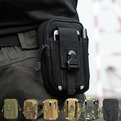 Outdoor Tactical Waist Fanny Pack Belt Bag Camping Hiking Phone Pouch Wallet Hot