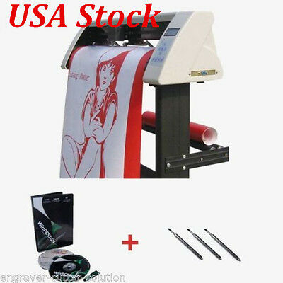 """USA ship! 24"""" Redsail Vinyl Cutter Plotter with Contour Cut Function +GIFT"""