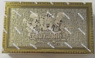 YU-GI-OH Legendary Decks 2 II SEALED BOX YUGIOH Yugi Kaiba Joey
