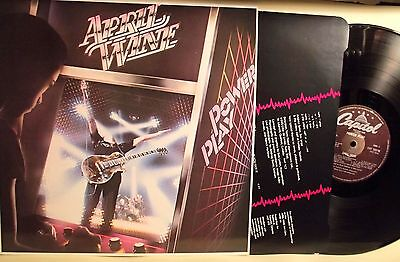 "Lp-April Wine-""power Play""uk 1982-N.mint/n.mint"