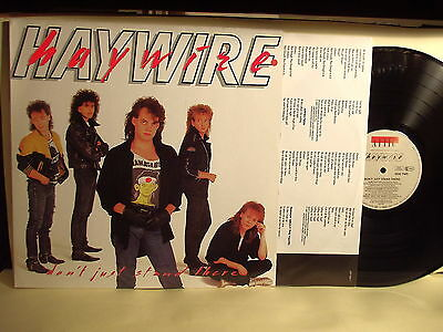 "Lp-Haywire-""don't Just Stand There""germania 1987-N.mint"