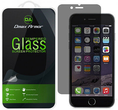 2-Pack Dmax Armor (Privacy) Tempered Glass Screen Protector for iPhone 7 Plus