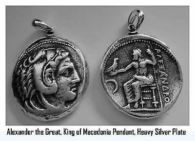 Alexander the Great, King of Macedonia, Son of Phillip II,  Pendant 1-S