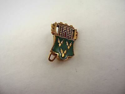 Vintage Collectible Pin: Flying Acorns Castle Insignia