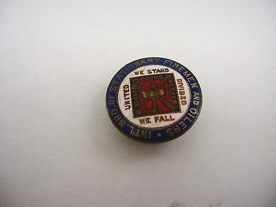 Antique Vintage Pin International Brotherhood of Stationary Firemen & Oilers