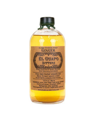 El Guapo Ginger Syrup 488ml