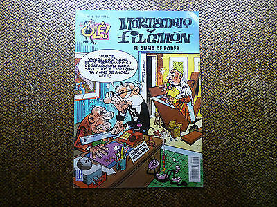Mortadelo Y Filemon Nº10 El Ansia De Poder - Comic (Leer)