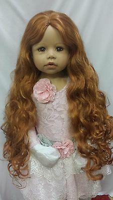 "NWT Monique Donna Carrot Doll Wig 17-18"" fits Masterpiece Doll(WIG ONLY)"
