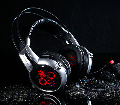 Somic E95X 7.1 Vibration Gaming Headset 5.2CH USB Surround Headphones with Mic