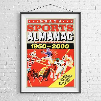 BACK TO THE FUTURE ALMANAC CLASSIC MOVIE POSTER PICTURE PRINT Size A5 to A0 *NEW