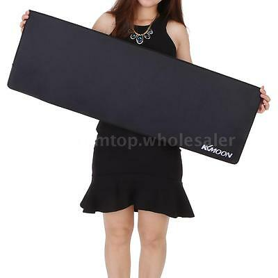 900*300*3mm XL Large Plain Black Extended Rubber Speed Gaming Mouse Pad Mat