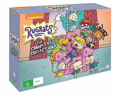BRAND NEW Rugrats Complete Collection (DVD, 29-Disc Set) R4 Season 1-9